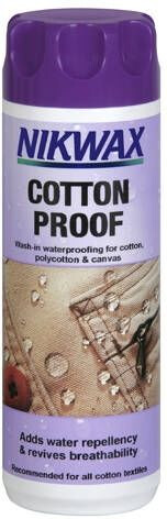 Nikwax New Cotton Proof 300 ml impregnering Hvit